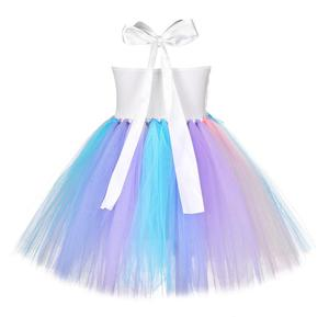 Image 5 - 소녀 유니콘 조랑말 의상 머리띠 투투 드레스 꽃 스팽글 공주 소녀 파티 드레스 어린이 키즈 유니콘 의상 새로운