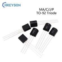Transistor MAC97A6 MCR100-6 MJE13001 MPSA14RLRAG IC Triode Bidirectional TO-92 50pcs