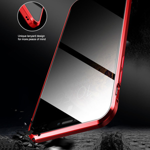 Image 5 - Magnetische Adsorption Metall Telefon Fall Für iPhone 6 6s 8 7 Plus X Doppelseitige Glas Magnet Abdeckung Für iPhone X XS MAX XR Fällen