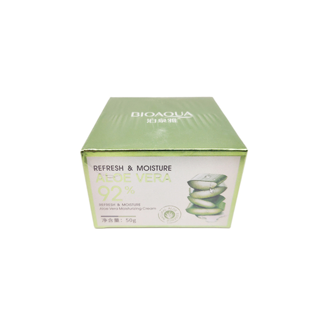 BIOAQUA Aloe Vera Gel Essence Face Cream Moisturizing Snail Whitening Cream Acne Scar Removal Cream Korean Cosmetics Skin Care 5