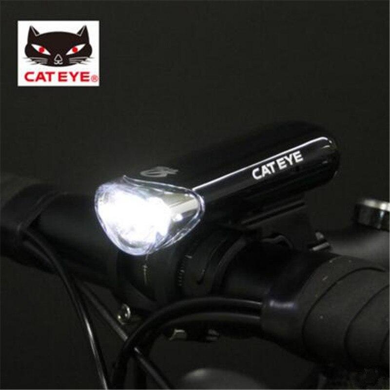 CATEYE OPTICUBE EL135N BLACK FRONT 3 LED BICYCLE HEAD LIGHT