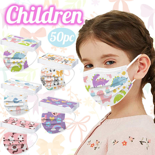 3-layer Industrial Disposable Child Mask