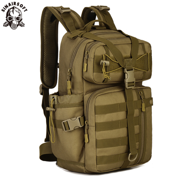 цена на Outdoor Tactical Backpack 900D Waterproof Army Shoulder Military Hunting Camping Multi-purpose Molle Hiking Travel Sport Bag 30L