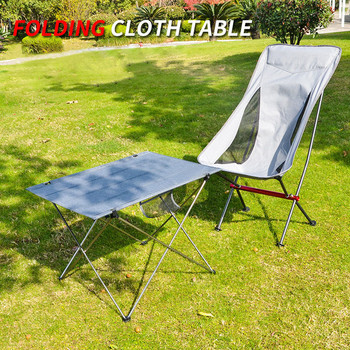 Folding Camping Table Outdoor Furniture Portable Hiking Foldable Picnic Tables Aluminium Alloy Ultra Light Outdoor Folding Table wsfs wholesale 2 x portable foldable folding table desk camping outdoor picnic 7075 aluminium alloy ultra light