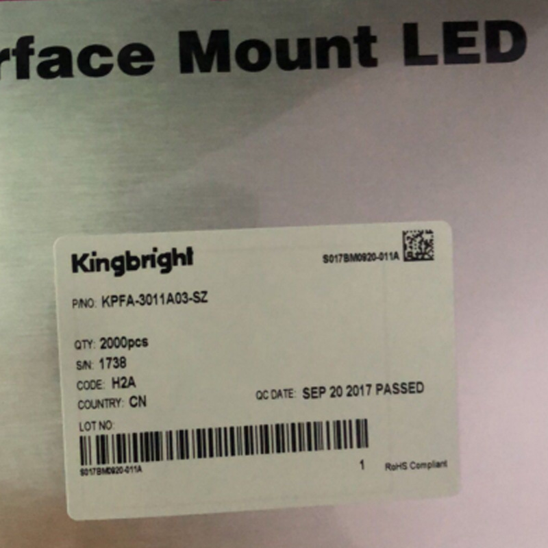 Kingbright Kringbright KPFA-3011A03-SZ Origional Product Currently Available
