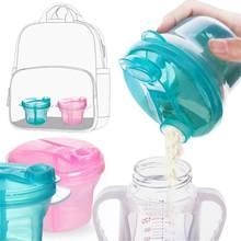 Distributeur de lait en poudre pour nouveau-né, conteneur alimentaire en PP pour enfants, boîte d'alimentation, vaisselle écologique pour enfants, biberons de voyage