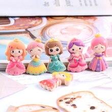 15 pçs bonito dos desenhos animados menina plana volta resina cabochão scrapbook para decoração artesanato aplique diy arcos de cabelo acessórios