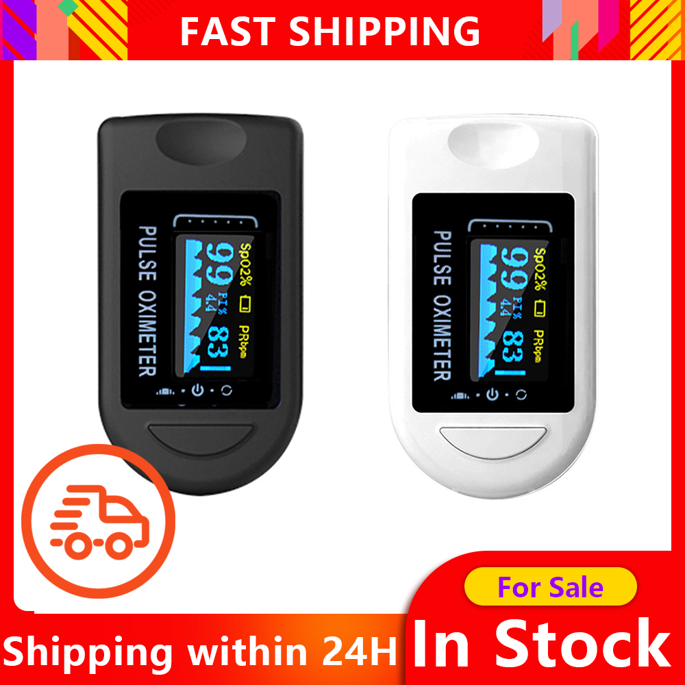 Fingertip Pulse Oximeter Finger Oximetry Health Care Ox Safe Accu Ce Blood Gluco Monitor Oled SPO2 Blood Oxygen Monitor