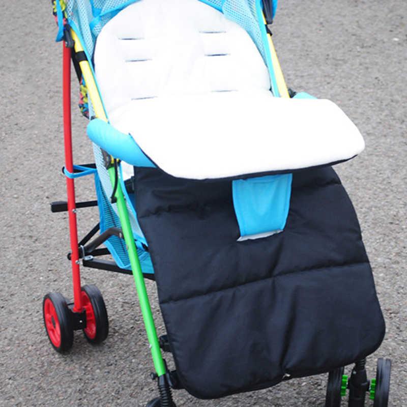 Rüzgar geçirmez bebek arabası sıcak su geçirmez ayak koruyucu arabası ayak sepeti evrensel ayak koruyucu aksesuarları yumuşak uyku tulumu
