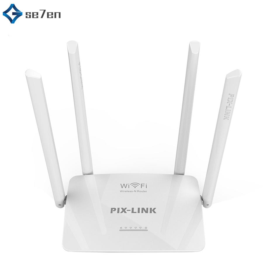 300Mbps Wireless Router Router Wifi Repeater USB 802.11 B/G/N WPS 2.4G Network Router Extender Antenna Wifi Repitidor For Home