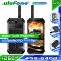 Ulefone Armor 3T Мобильный телефон-рация Телефон IP68/IP69K водонепроницаемый helio P23 5,7