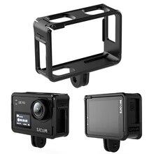 SJ8 Beschermende Frame Case Voor SJ8 Serie SJ8Plus SJ8Pro SJ8Air Houder SJ8 Lens Cap Glas Screen Film Waterdichte Lens Cap kap