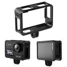 SJ8 Protective Frame Case for SJ8 Series SJ8Plus SJ8Pro SJ8Air Holder SJ8 Lens Cap Glass Screen Film Waterproof Lens Cap Hood