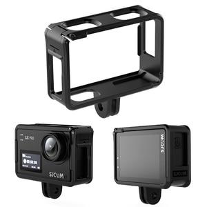 Image 1 - Sj8 caixa protetora do quadro para sj8 série sj8plus sj8pro sj8air titular sj8 lente tampa de vidro filme da tela capa de lente à prova dwaterproof água