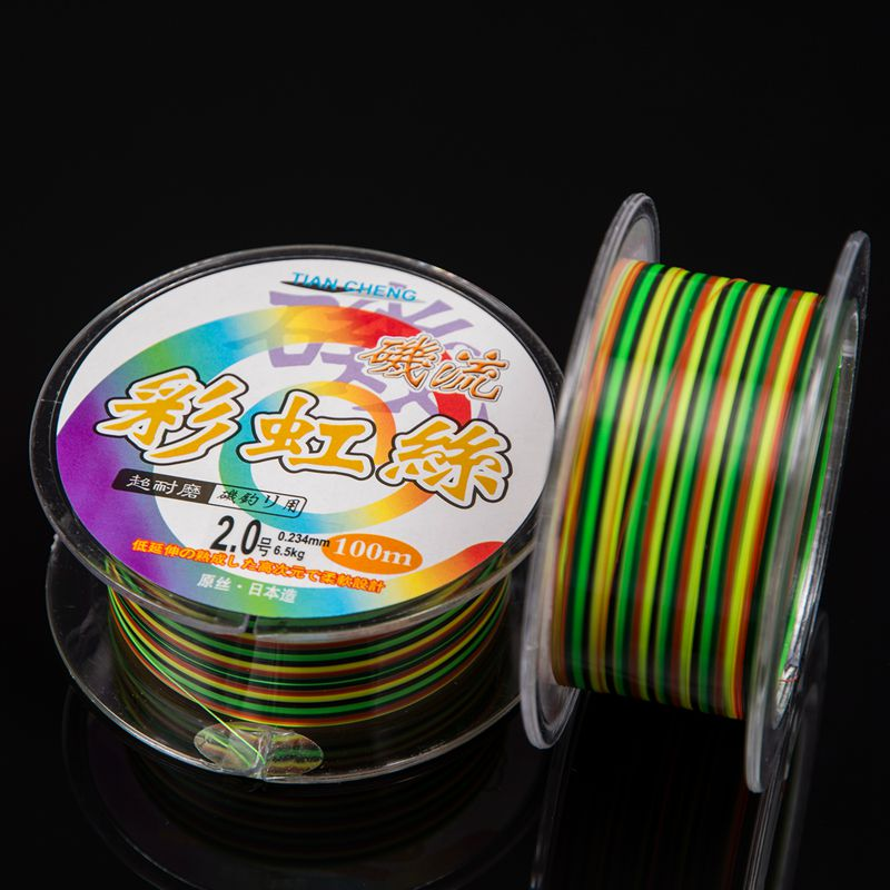 100M Nylon High Srength Fishing Line Rope Thread Cord For the Shore Fishing Boat Fishing Tackle