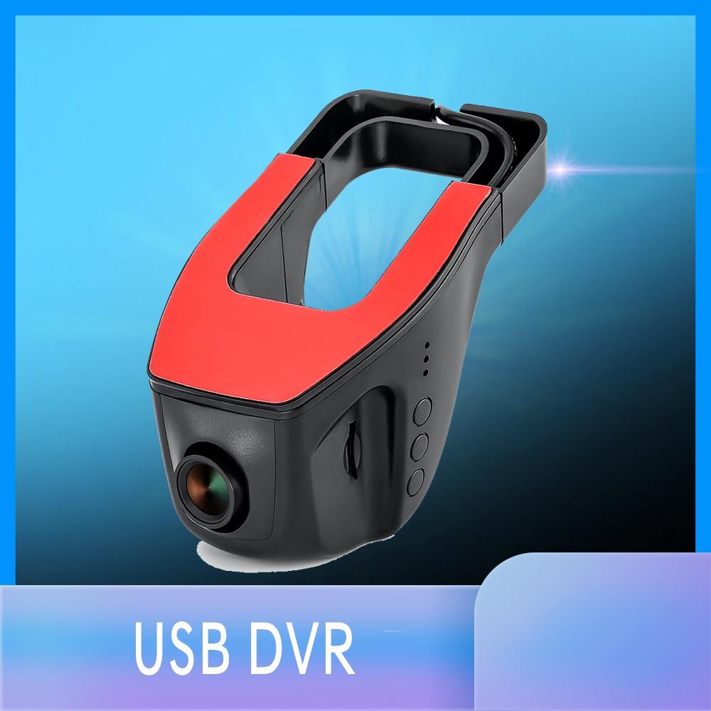 Car DVR Dash Camera Driving Recorder 1080P USB Car DVR Night Version Digital Video Recorder For Android DVD GPS Player DVR CAM|DVR/Dash Camera| |  - title=