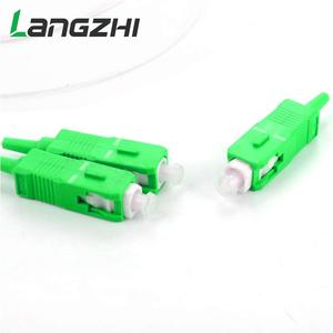 Image 2 - 10pcs Special Wholesal New 0.9mm SM Steel Tube 1x2 Mini Blockless SC/APC 2 Ports Pull Cone Fiber Optic PLC Splitter Wire Harness