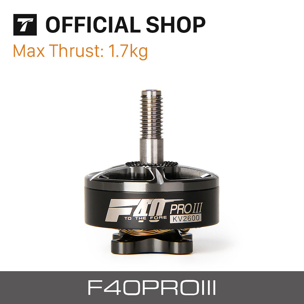 T-motor <font><b>Drone</b></font> Professional F40 PRO III 2400KV/2600/1600 <font><b>Brushless</b></font> Electrical Motor For Racing Motor <font><b>FPV</b></font> Freestyle Frame airplan image