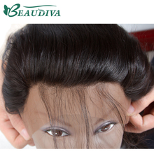 Beaudiva Hair Ear to Ear Lace Frontal Closure 13X4 Free Part With Baby Hair 100% Brazilian Straight Human Hair Closure Non Remy