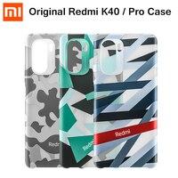 Xiaomi-funda Original POCO F3 K40, carcasa protectora de silicona líquida, camuflaje, oficial, MI Redmi K40 Pro Plus