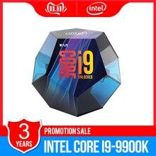Intel Core i9 9900K เดสก์ท็อปโปรเซสเซอร์ 8 คอร์ 5.0 GHz Turbo ปลดล็อก LGA1151 300 Series 95 W ใหม่ 100% original CPU