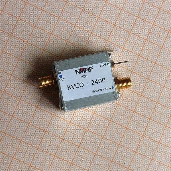Oscillateur à tension contrôlée 2.4GH RF micro-ondes VCO, Source de Signal de balayage, générateur de Signal KVCO-2400