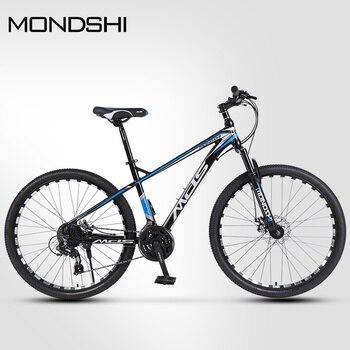 Mondshi27.5-inch mountain bike 24 speed disc brake damping front fork 1