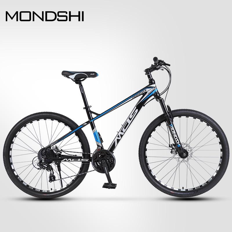 Mondshi27 5 inch mountain bike 24 speed disc brake damping front fork Innrech Market.com