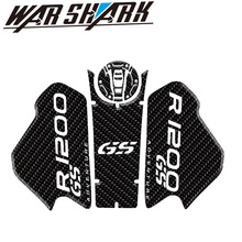 Motorcycle Anti slip Tank Pad Sticker Side Gas carbon fibre Knee Grip Protector for BMW R1200GSAdventure R1200GS ADV 2018-19