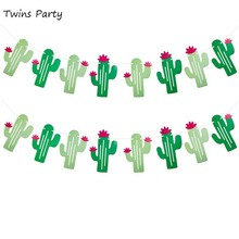 Twins Party Hawaii Cactus Banners  Fiesta West Cacti Llama Hawaii Theme Birthday Party Supplies Birthday Festival Hawaii Decor frommer s® hawaii 2007