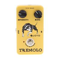 Joyo JF 09 Tremolo Guitar Pedal Stompbox Of Classic Tube Amplifiers Intensity Tone Guitar Effect Pedal Guitar Accessories