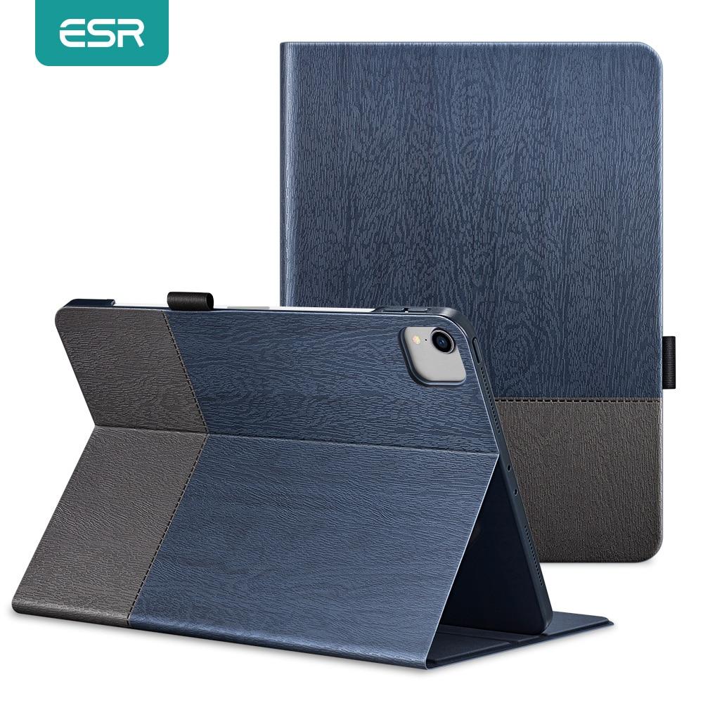 ESR Case for iPad Pro 12 9 Case 2020 Oxford Cloth Back Cover Auto Sleep Wake up Smart Cover for iPad Pro 2020 11 12 9 Case Funda
