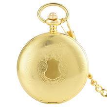 2020 ريترو الذهبي حالة الهيكل العظمي Vintage عدد الروماني الأسود زهرة الطلب الرجال الميكانيكية ساعة جيب ذات سلسلة للهدايا الفاخرة