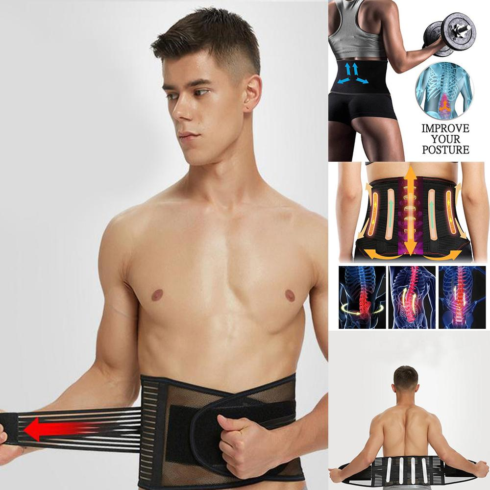 Shaper Belt Men Slimming Belt Waist Trainer Modeling Strap Cincher Sheath Body Girdle Men's Beer Belly Abdomen Belt Strong Waist