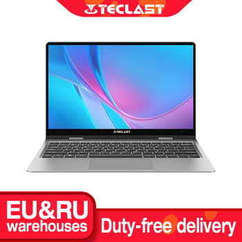 Teclast F5R Laptop 11.6'' IPS 1920*1080 Windows 10 OS Quad Core 8GB RAM 256GB SSD 360° Rotation Type-C Quick Charge Notebook
