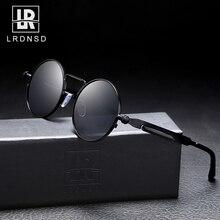2020 Vintage Men Sunglasses Women Retro Punk Style Round Met