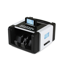 HS-128 Automatic Money Counter Portable UV MG fake Money Detector LCD Display Bill Counter