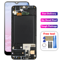 SUPER AMOLED LCD For Samsung galaxy A30 A305/DS A305F A305FD A305A A305 LCD Display Touch Screen Digitizer Assembly Free Tools