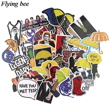20sets/lot (37pcs/set) Flyingbee love story Stickers Waterproof Stickers for Laptop Luggage Sticker X0755