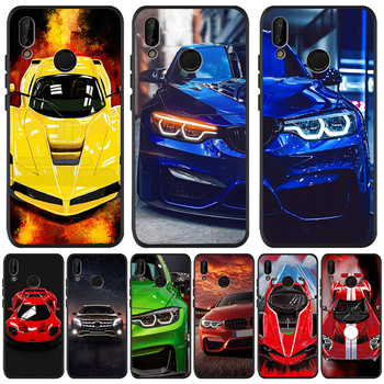 Car luxury boy For Huawei P8 P10 P20 P30 Mate 10 20 Honor 8 8X 8C 9 V20 20i 10 Lite Plus Pro Case Co
