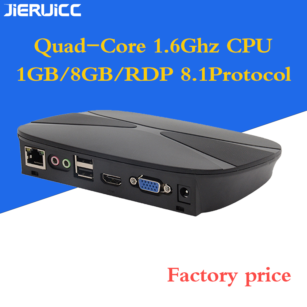 Cost-effective Thin Client Solution G3 For Computer Lab/office Working With RDP8.1 Protocol/quad- Core 1.6Ghz.RAM1gb.Flash8GB