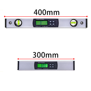 Image 2 - Digital Protractor Angle Finder electronic Level 360 degree  Inclinometer with Magnets  Level angle slope tester  Ruler 400mm