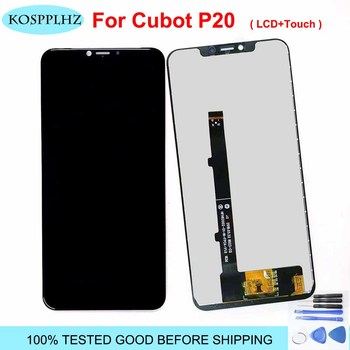 6.18 inch For cubot p20 LCD Display and Touch Screen Sensor Digitizer Assembly For Cubot P 20 Cell Phone Repair Part Tool + glue