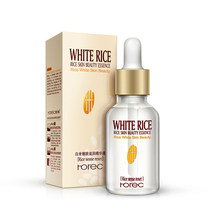 New White Rice Whitening Serum Face Moisturizing Cream Anti Wrinkle Anti Aging Face Fine Lines Acne Treatment Skin Care 15ml