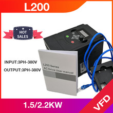 Entrada de angisy 2.2kw 380v 3 fases e conversor de frequência de saída de 380v 3 fases 50hz a 60hz