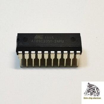 5 шт./лот AT89C2051-24PU ATMEL микроконтроллер PU DIP at89c2051