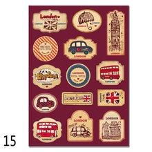 Yourart винтажные туристические наклейки для чемоданов багажа