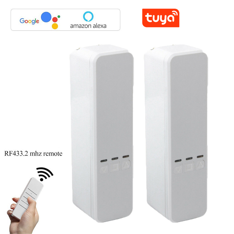 Tuya Smart Home Automation Chain Roller Blinds Pull Bead Curtain Motor Smart Curtain Motor Works With Alexa / Google Assistant