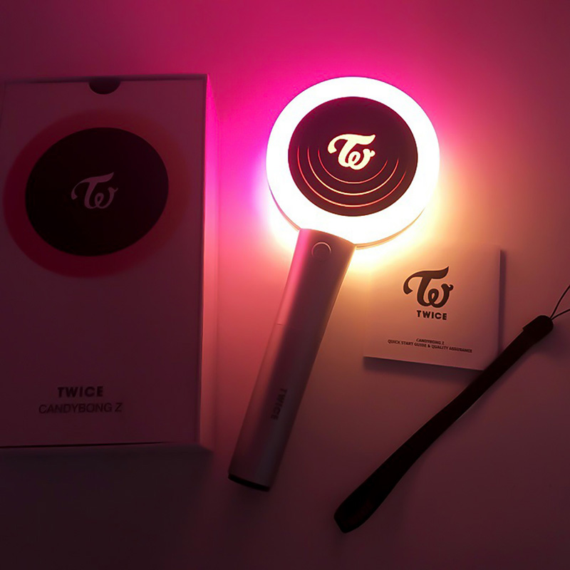LED KPOP Twice Light Stick Ver.2 2019 New CCANDYBONG Light Stick Concerts Album Glow Lamp Lightstick Fans Collection