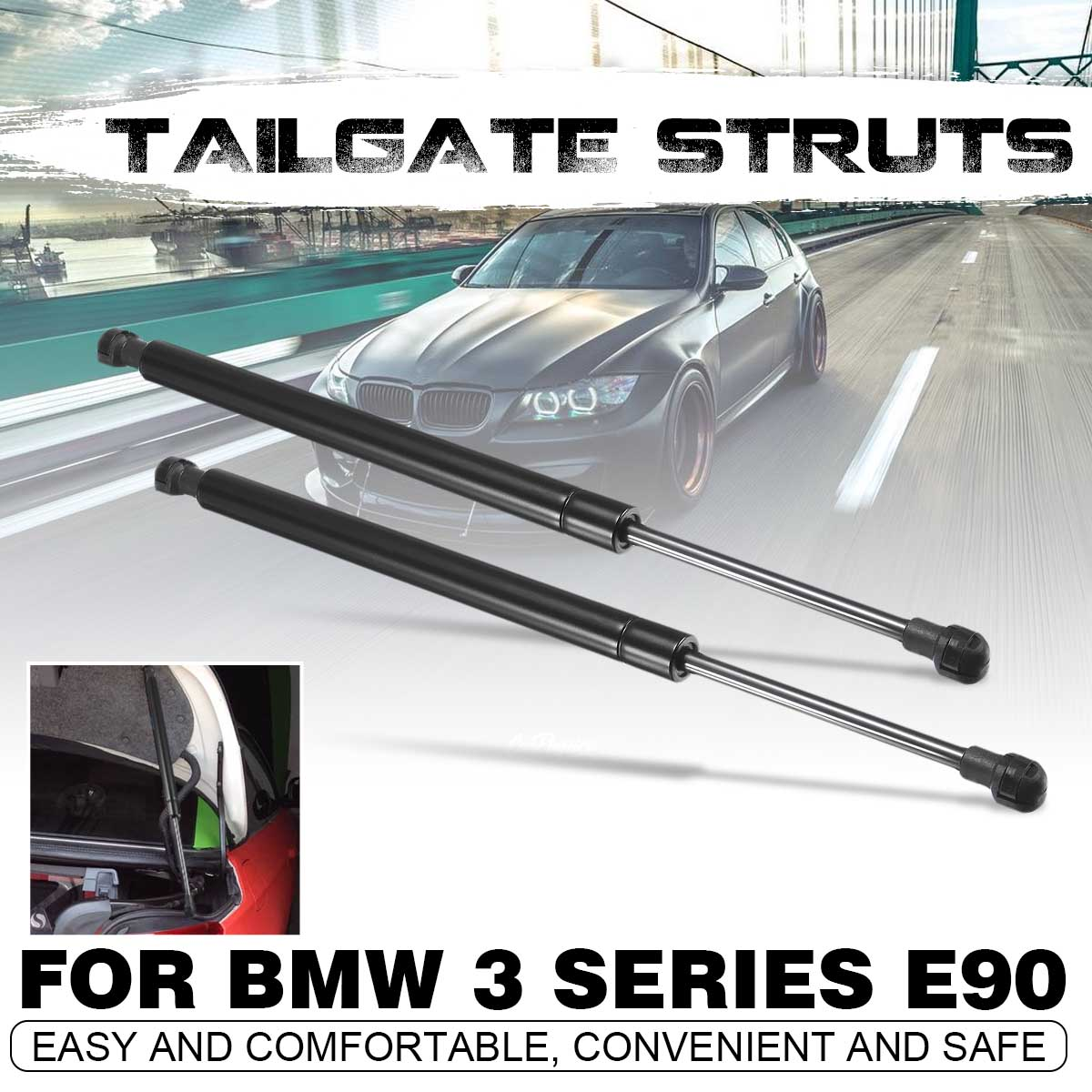 BMW 3 Series E90 Saloon 2005-2012 Custom Tailored Fit Boot Mat